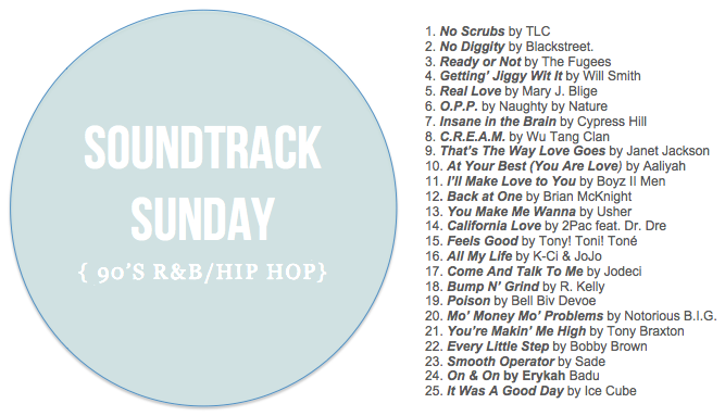 S of C Soundtrack Sunday Week 2
